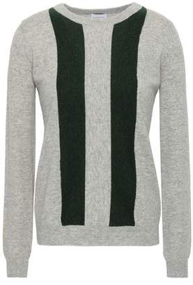 Madeleine Thompson Sha Sta Striped Wool And Cashmere-blend Sweater