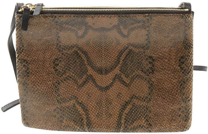 CelineTrio leather mini bag