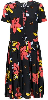 Parker Chinti & hibiscus print dress