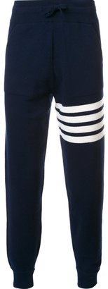 Thom Browne striped detail sweatpants $1,220 thestylecure.com