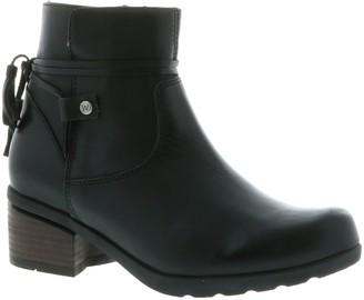 Wolky Leather Zipper Booties - Idalia