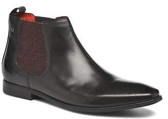Base London Men's William Ankle Boots In Black - Size Uk 11 / Eu 46