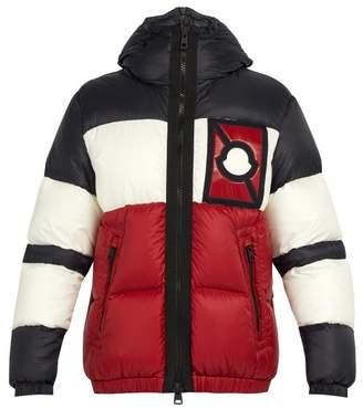Craig Green 5 Moncler Tresher Down Filled Jacket - Mens - Black Red