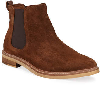 Kenneth Cole Men's Whistler Suede Chelsea Boots