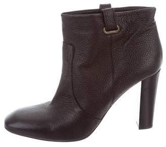 Delman Leather Ankle Boots