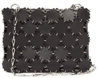Paco Rabanne Blossom 1969 Leather Shoulder Bag - Womens - Black