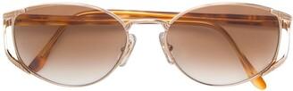 Ungaro Pre-Owned metal frame sunglasses