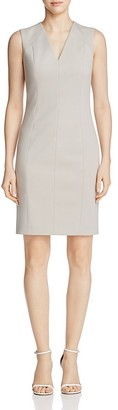 T Tahari Susan V-Neck Shift Dress $98 thestylecure.com
