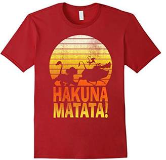 Disney Lion King Simba Hakuna Matata Sunset T-Shirt C1