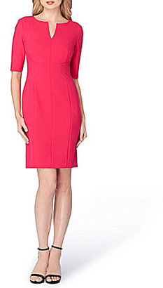 Tahari ASL V-Neck Sheath Dress $128 thestylecure.com