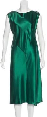 Alberta Ferretti Silk Midi Dress