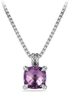 David Yurman Châtelaine Pendant Necklace with Gemstone and Diamonds