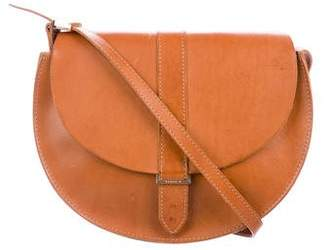 Clare Vivier Leather Supreme Crossbody Bag