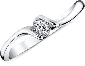 Sirena Diamond Ring (1/10 ct. t.w.) in 14k White Gold