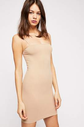 Intimately Skinny Strap Square Neck Slip