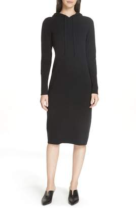 Nordstrom Signature Cashmere Blend Hoodie Dress