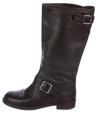 Marni Leather Flat Boots