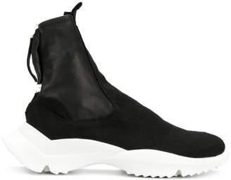 Cinzia Araia zipped sneaker boots