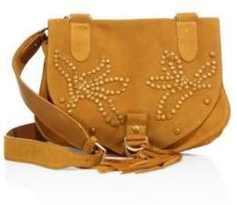 See by Chloe Collins Studded Suede Messenger Bag