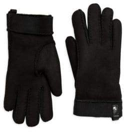 UGG Stormy Leather Tenney Gloves