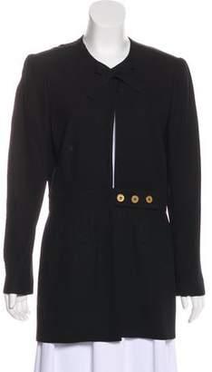 Sonia Rykiel Collarless Short Coat
