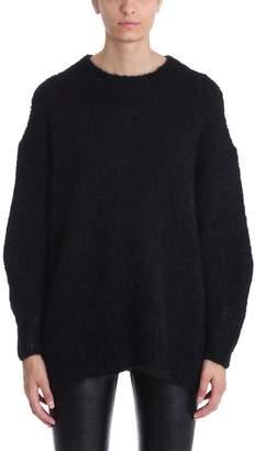 Isabel Marant Idol Black Mohair-blend Sweater