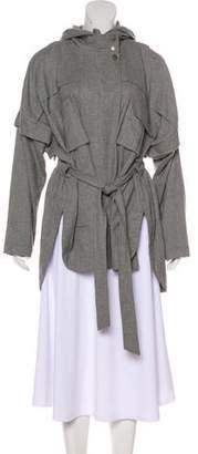 Marissa Webb Hooded Dolman Coat