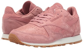 Reebok Lifestyle - Classic Leather Exotic Print Women's Classic Shoes $75 thestylecure.com