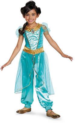 BuySeasons Disney Jasmine Deluxe Sparkle Toddler Girls Costume