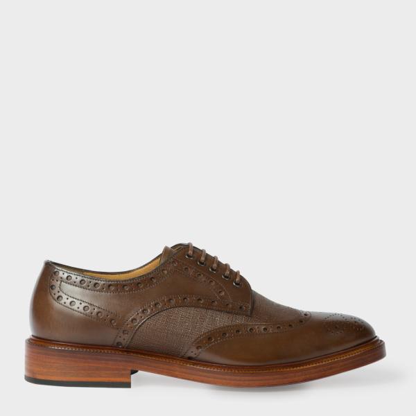 Paul SmithMen's Brown Leather 'Xander' Brogues