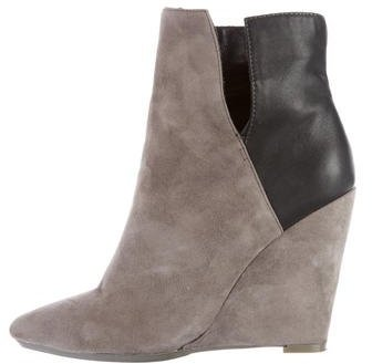 Rebecca Minkoff Rebecca Minkoff Suede Wedge Ankle Boots