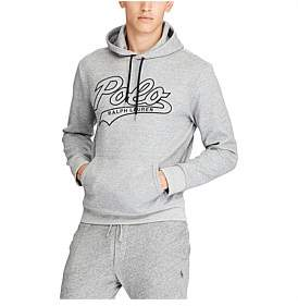 Polo Ralph Lauren Mens Embroidered Double-Knit Hoodie