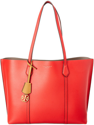 Tory Burch Perry Triple Compartment Leather Tote