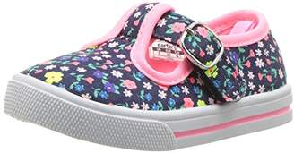 Carter's Girls' Lorna Casual T-Strap Mary Jane Flat