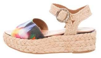 Rachel Comey Raffia Platform Sandals