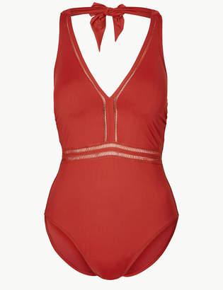 Marks and Spencer Padded Halter Neck Neck Swimsuit