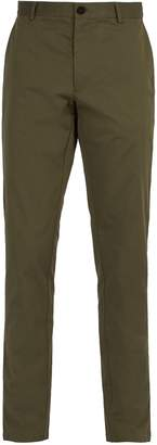 Burberry Slim-leg cotton chino trousers