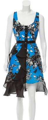 Ungaro Printed Sleeveless Dress