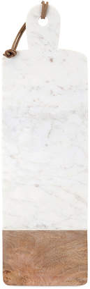 Imax Danita Marble And Wood Cheese Board