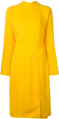 Salvatore Ferragamo jumper dress $2,462 thestylecure.com