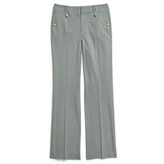 Tommy Hilfiger Adaptive Women's Pants Wide Leg Adjustable Hems Waist