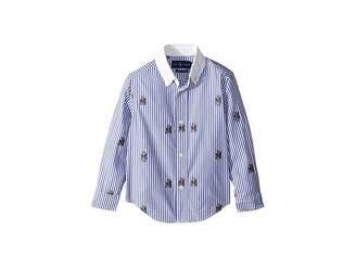 Polo Ralph Lauren Polo Bear Stretch Cotton Shirt (Toddler)