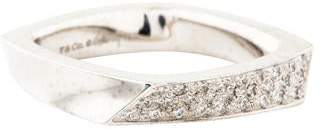 65ee82f14 Tiffany & Co. 18K Diamond Frank Gehry Torque Band