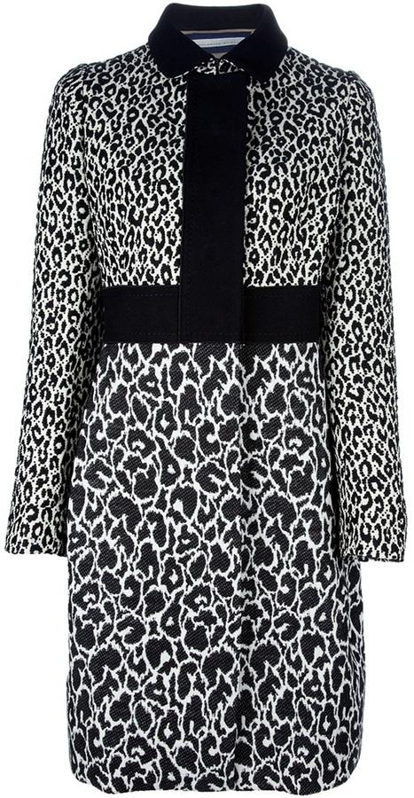 Aquilano Rimondi Aquilano.Rimondi leopard print coat