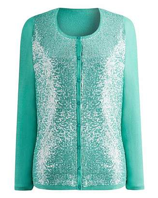 Fashion World Sequin Cardigan