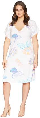 Fresh Produce Extra Fresh by Plus Size Summer Floral Emma Dress Women's Dress