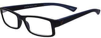 Sportex Readers Rectangular Men's Reading Glasses Plastic Frame