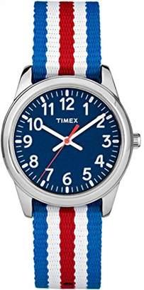 Timex Boys TW7C09900 Time Machines Metal Nylon Strap Watch