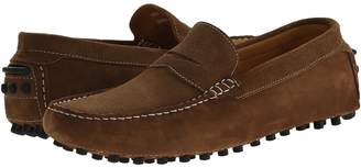 Matteo Massimo Suede Nubuck Penny Men's Slip on Shoes