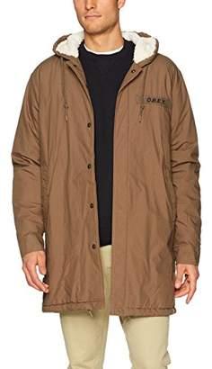 Obey Men's Tiller Regular Fit Parka Jacket